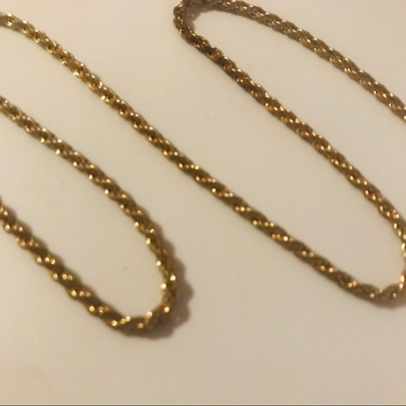 Jewelry - 18K Gold Rope Chain 10g 20in